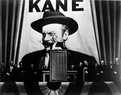 Directed by Orson Welles.  With Orson Welles, Joseph Cotten, Dorothy Comingore, Agnes Moorehead. Following the death of a publishing tycoon, news reporters scramble to discover the meaning of his final utterance.