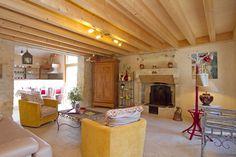 Gîte Petit Paradis, un salon cosy et chaleureux