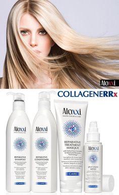In salone come a casa, non arrenderti mai: i capelli rovinati possono rinascere! Con il Collagene RRx di Aloxxi e la linea rivendita, lo splendore dei tuoi capelli non ti abbandona mai, nemmeno in Inverno ;-)