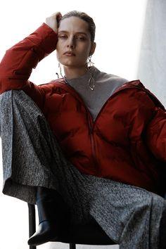 Photography: Peter Gehrke Styled by:Megal Grouchka Hair: Kazue Deki Makeup: Lisa Legrand Model: Anna Cholewa