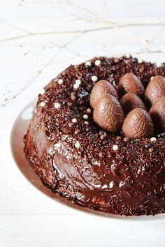 Gâteau nid de Pâques - Juliette blog féminin