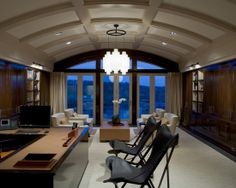 Executive Office Design, Pictures, Remodel, Decor and Ideas
