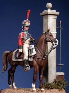 Garde d'honneur de la ville de Rome. By Enrico Azeglio