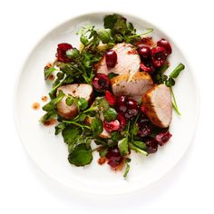 Pork Loin with Cherry Vinaigrette Recipe