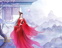 Painting Of Girl, China Art, Hanfu, Amazing Art, Cinderella, Disney Characters, Fictional Characters, Disney Princess, Anime