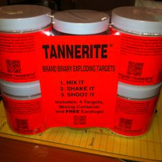 Tannerite... definitely bad ass! Thanks to Kate & Wes for a fun day of shootin guns & blowin shit up!! Tannerite's on us next time! :)