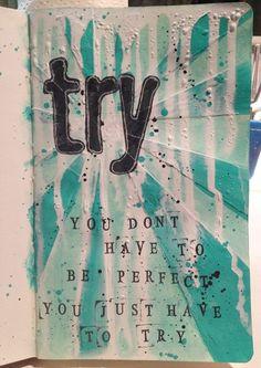 Try by Melita Bloomer @ Artful Fancies