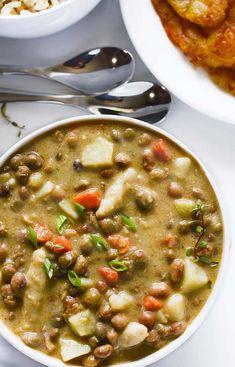 Jamaican Gungo Peas Soup (Pigeon Peas) Vegan   Healthier Steps