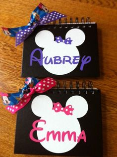Disney Autograph Book by StefsDoodleDots on Etsy, $18.00..... Cambrey Rogers!