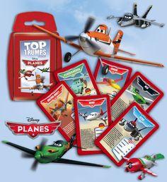 Top Trumps PLANES hebt ab! #toptrumps #disney #planes