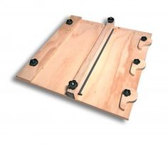 Guitar Plate Joining jig Tool Plans