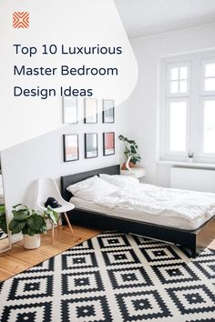 Owning a luxurious bedroom doesn't mean you'll have to break the bank to achieve it. Everything you need to make your bedroom look expensive can be easily acquired on a budget! Just try our 10 master bedroom decor ideas and decorate a luxurious bedroom for less. One Bedroom Apartment, Cozy Bedroom, Trendy Bedroom, Master Bedroom, Bedroom Decor, Clean Bedroom, Hanging Rope Shelves, Wooden Floating Shelves, Feng Shui