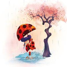little ladybug girl ^^ by ~grainesDeSeL on deviantART