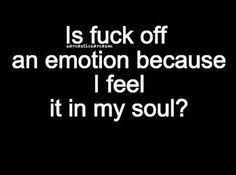 An emotion