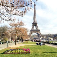 Paris in the spring.