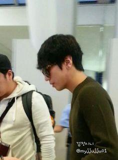 130924 Yonghwa go to filming drama at Jeju