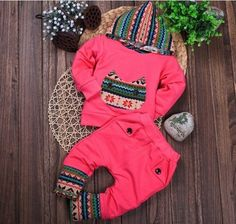 Cheap Clothing Sets, Buy Directly from China Suppliers:    new spring autumn 2014 children baby& kids hoodies clothes set girls boys casual outwear t shirt and pants sui