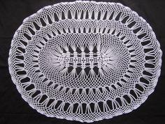 Crochet Table Runner - White Table Runner - Oval Lace Runner - Wedding gift - Hostess gift - Housewarming gift - Traditional White Runner by ElenisCrochet on Etsy