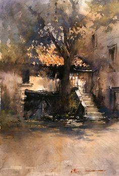 Artist - Vladislav Yeliseyev American Painter.