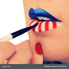 How do you get festive for the 4th of July? Take your makeup to the next level with some stars and stripes!