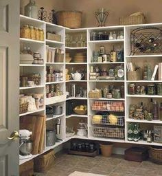 A dream pantry!