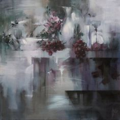"""Saatchi Art Artist Barry Patterson; Painting, """"Still Life with Silver Pitcher II"""" #art"""