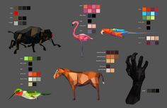 Mirada: Color mapping for shader concepts by motionographer, via Flickr