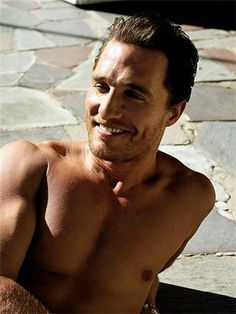 Matthew McConaughey is such a babe