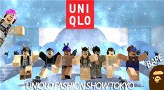 UNIQLO Fashion show Tokyo