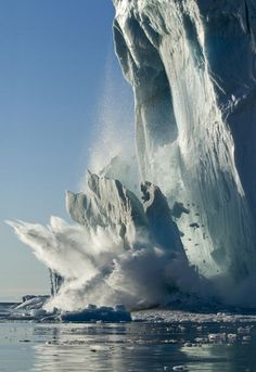Award winning nature photographer Paul Souders has released pictures of his   ten-year quest to capture the ethereal beauty of icebergs. Recent winner of   the prestigious Veolia Environment Wildlife Photographer of the Year 2011,   Paul, from Seattle in the US, has made a series of expeditions to some of   the most remote and inhospitable areas of the planet to capture melting   icebergs.