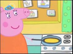 Peppa cochon francais Les crepes - YouTube