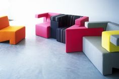 Modular Sofa System Endless Seating Combinations - ArchInspire
