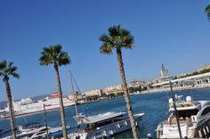 Malaga, port