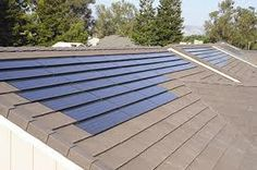http://www.cheap-solar-p... Rooftop solar energy panels. Integrated solar roof panels