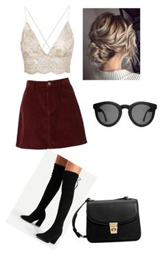 """""""Cute summer outfit"""" by sirine05 on Polyvore featuring MANGO and Crap"""