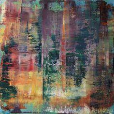 abstract N° 737 - SOLD [USA]