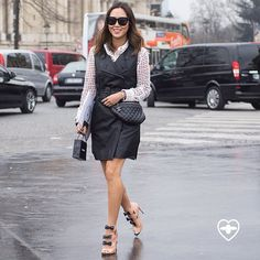 Aimee • Photo by #Dvora #Fashionistable #AimeeSong @SongOfStyle #StreetStyle #Paris #Fashion #Mode #Moda #StreetChic #Style #Chic #FashionWeek #PFW #NoFilter