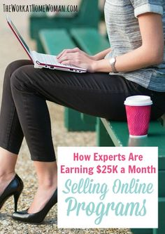 Ever considered creating an online product for cash? Here's what you need to know ... via The Work at Home Woman