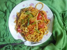 Bhurji Spaghetti S O R R Y. I was absent for a long long time.. Well, I have my reasons but that doesn't give me any excuses not to blog. I feel