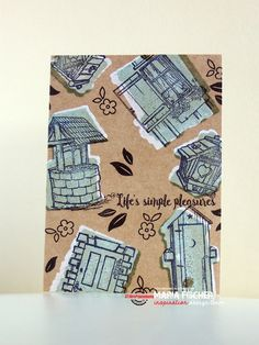STAMPlorations™ Blog: {Spotlight Project} Maria Shadow Stamps on Kraft