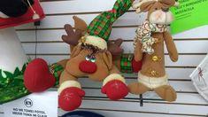 Reno, Christmas Ornaments, Holiday Decor, Home Decor, Atelier, Faces, Manualidades, Decoration Home, Room Decor