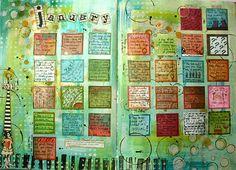 Calendar 366 Challenge by Kate Crane