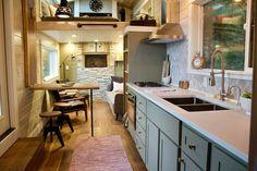 Double Loft Luxury Big Outdoors Tiny House by Tiny Heirloom 004