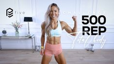 500 REP Full Body Challenge - Total Body Workout | Pure Endure Day 5 - YouTube Total Body, Full Body, Arms And Abs, Body Challenge, Beast Mode, Workout Videos, Muscle, Challenges, The Incredibles
