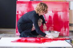 Nahlížíme do ateliéru: Ateliér Lucie Jindrák Skřivánková Online Galerie, Contemporary, Studio, Artist, Painting, Atelier, Artists, Painting Art, Studios