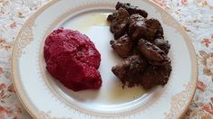 Retete cu margareta cismasiu: Piure de sfecla rosie Carne, Beef, Food, Salads, Meat, Essen, Meals, Yemek, Eten
