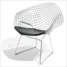 Many reproductions of the Bertoia chair reproductions are available at reasonable prices