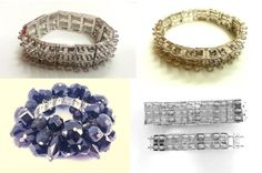 3-tier-or-2-tier-Unique-Silver-Stretchy-Bracelet-Finding-Jewellery-Making