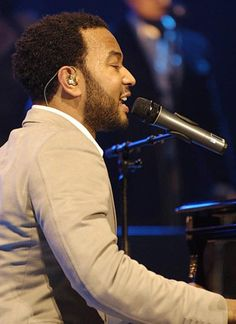 His voice! John legend...