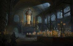 Bloodborne:Cabinet of Curiosities, Nick Carver on ArtStation at https://www.artstation.com/artwork/bloodborne-cabinet-of-curiosities